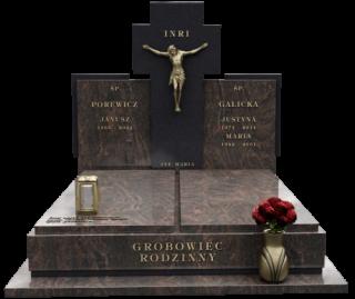 podwójne nagrobki Kraków